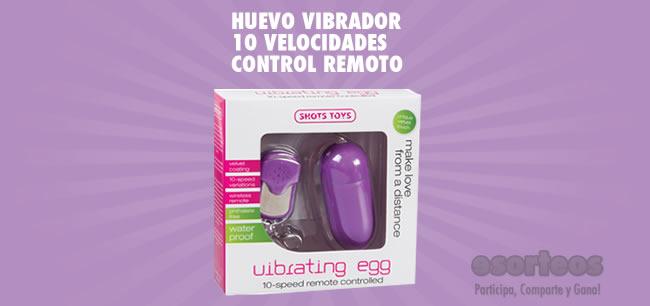 Huevo Vibrador Control Remoto