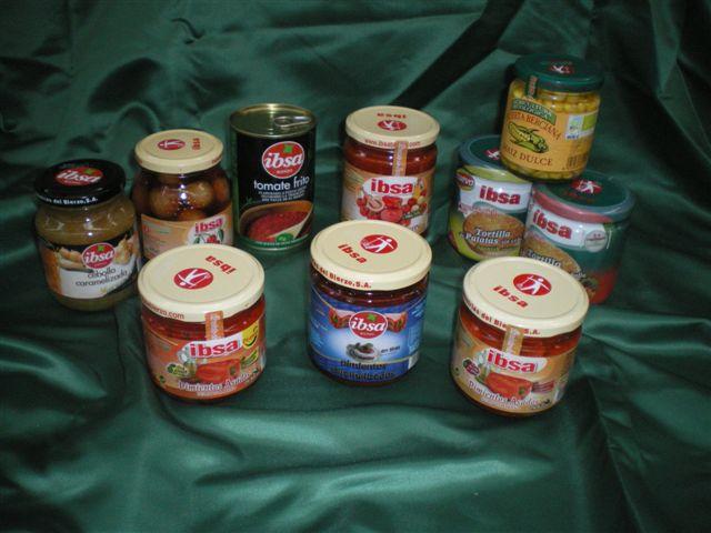 Lote de Productos Gourmet IBSA