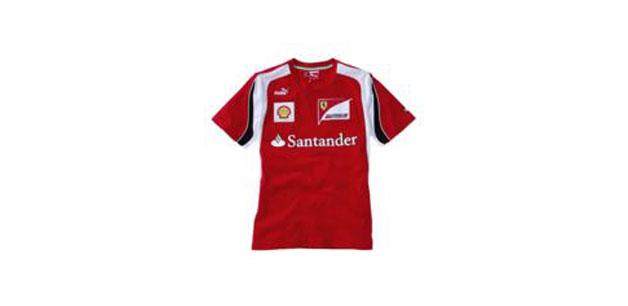 Camiseta Oficial Puma Team 2012