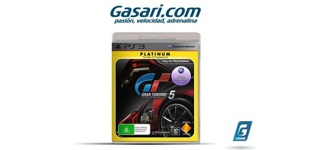 Gana el videojuego Gran Turismo 5 PS3