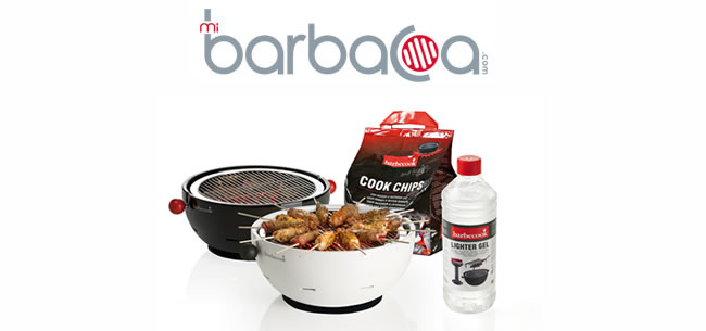 Barbacoa Amica + Cook Chips + Gel